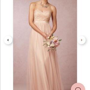 BHLDN Jenny Yoo Juliette Tulle & Lace Dress